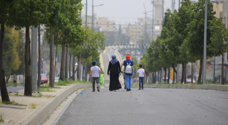 البيئة: انخفاض نسب تلوث الهواء في عمان والزرقاء واربد