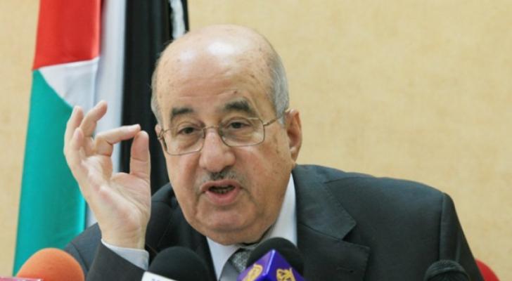 رئيس المجلس الوطني الفلسطيني سليم الزعنون