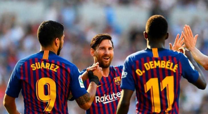 """ميسي: التوقف """"نعمة"""" لبرشلونة"""