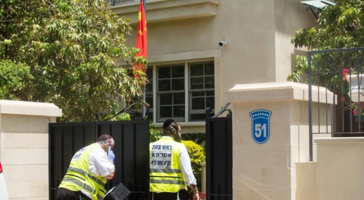 منزل السفير الصيني شمالي تل أبيب