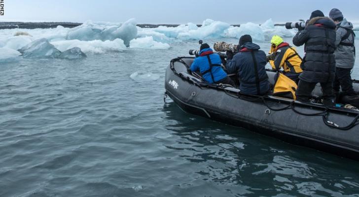 صورة من القطب الجنوبي