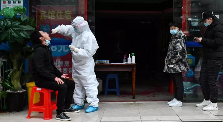 الصين تسجل خمس اصابات جديدة بفيروس كورونا