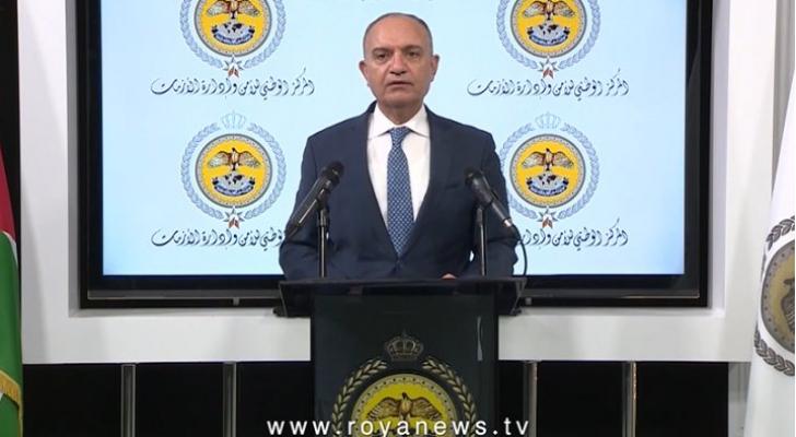 وزير الدولة لشؤون الاعلام أمجد العضايلة