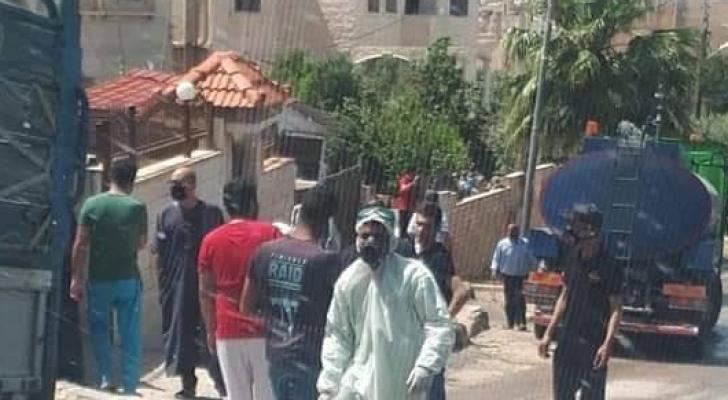 صورة لفرق التقصي الوبائي في المنطقة