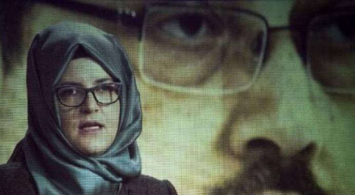 خطيبة الصحفي السعودي الراحل، جمال خاشقجي،خديجة جنكيز