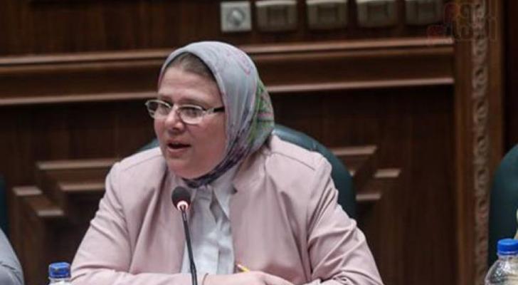 عضو مجلس النواب المصري شرين فراج