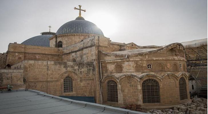 كنيسة القيامة في القدس المحتلة
