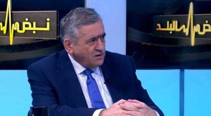 الناطق باسم لجنة الأوبئة الدكتور نذير عبيدات