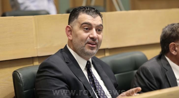 وزير العمل نضال البطاينة - ارشفيفة