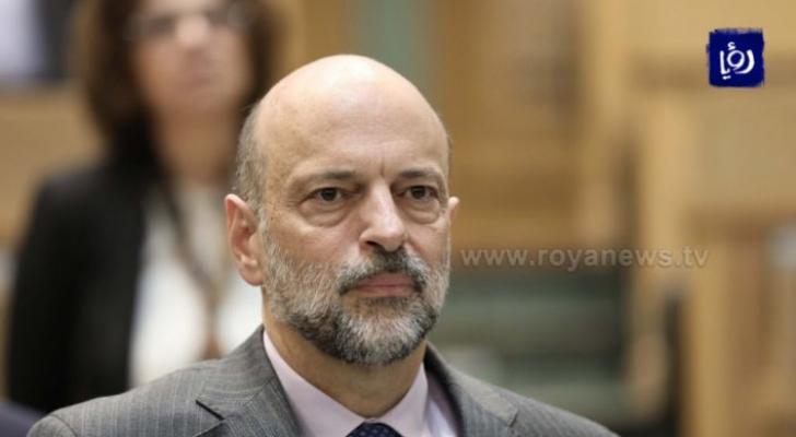 رئيس الوزراء الدكتور عمر الرزاز - ارشيفية