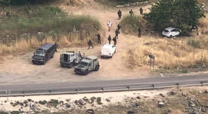 الاحتلال يطلق النار على فلسطيني بدعوى محاولة تنفيذ عملية قرب رام الله