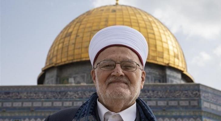 خطيب المسجد الأقصى المبارك الشيخ عكرمة صبري