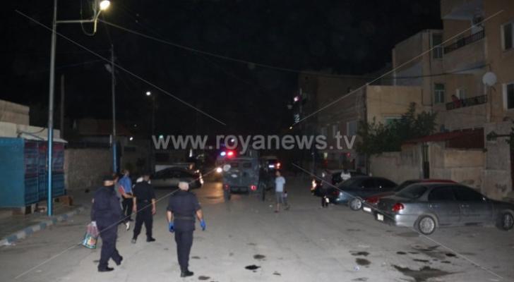 رفع العزل عن حي الإسكان وبناية مدينة الشرق بالزرقاء