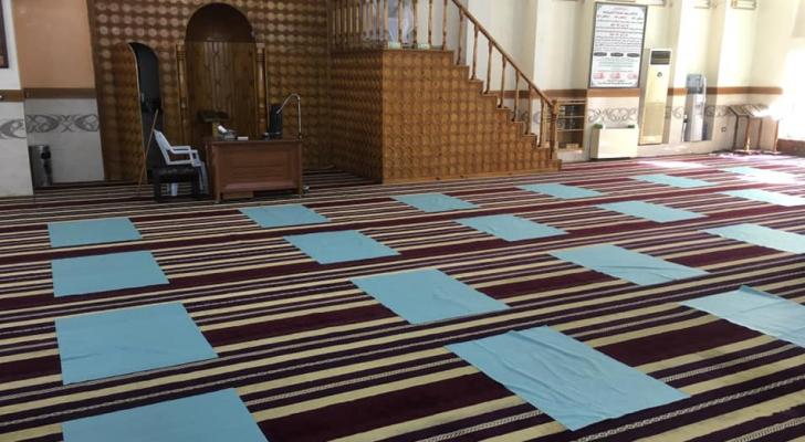 من استعدادات المساجد