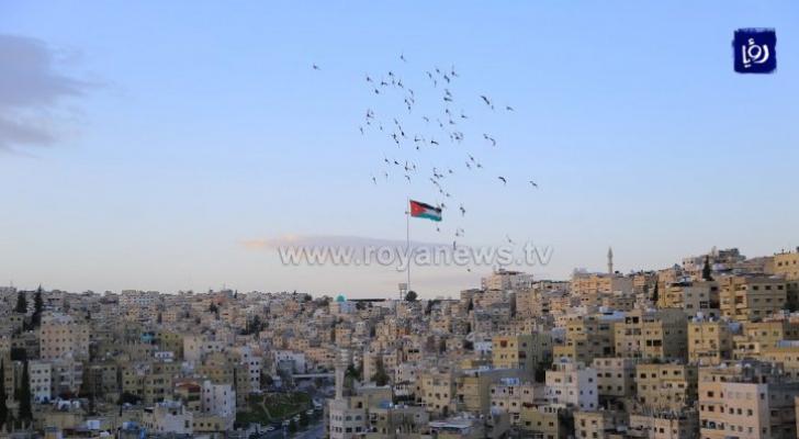 الأربعاء.. انتهاء تأثير المنخفض الخماسيني على الأردن