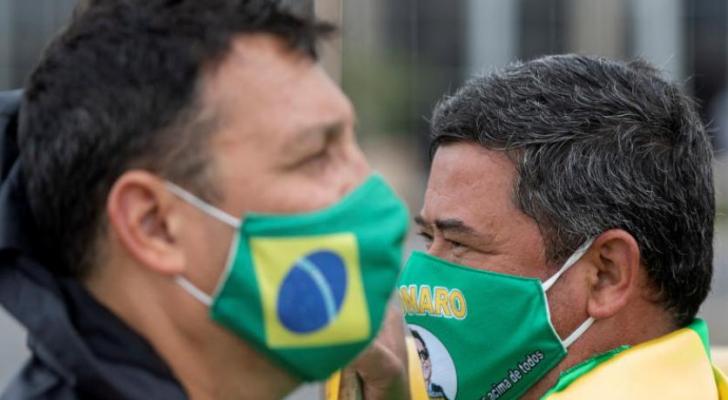 كورونا حصد في البرازيل أرواح 32548 شخصاً من أصل 584.016 مصاباً بالفيروس