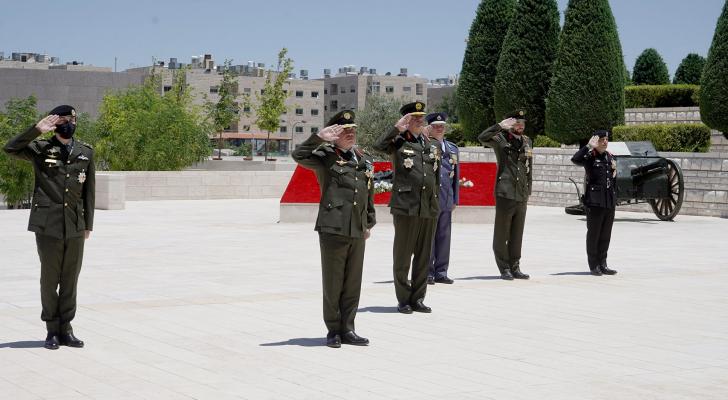 الملك يرعى احتفال القوات المسلحة بالمناسبات الوطنية