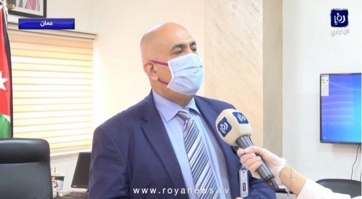 مدير إدارة مستشفيات البشيرالدكتور محمود زريقات