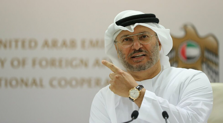 وزير الدولة للشؤون الخارجية الإماراتي أنور قرقاش - ارشيفية