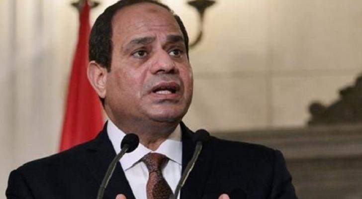 الرئيس المصري عبد الفتاح السيسي - ارشيفية