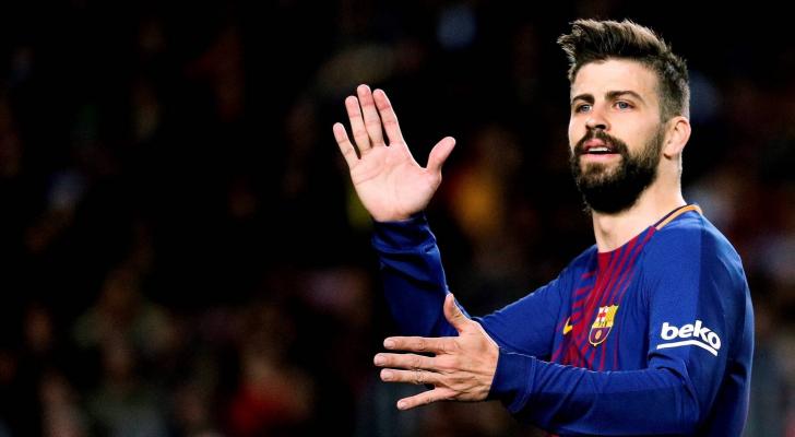 قلب دفاع برشلونة جيرار بيكيه