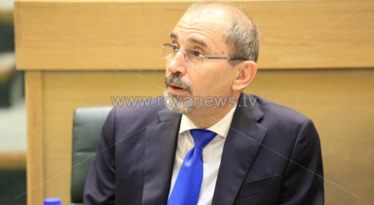 وزير الخارجية ايمن الصفدي