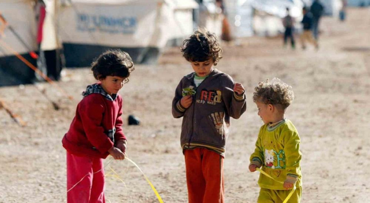 اللاجئين في الاردن - ارشيفية
