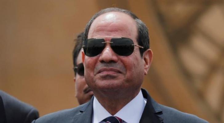 الرئيس المصري عبد الفتّاح السيسي - ارشيفية