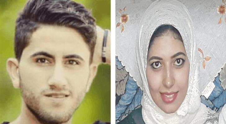 المغدورة وزوجها العراقي