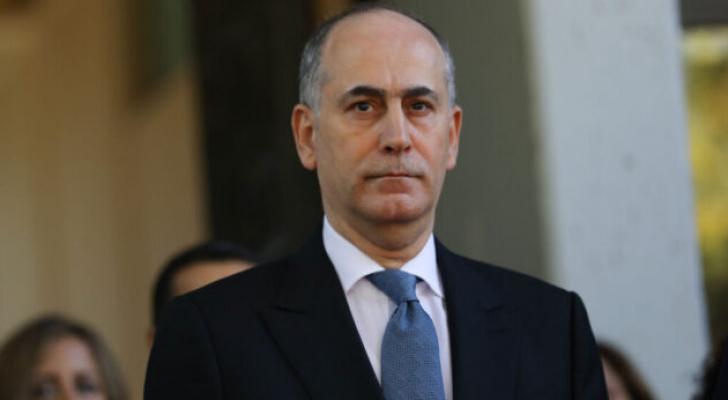 السفير الأردني في تل أبيب غسان المجالي