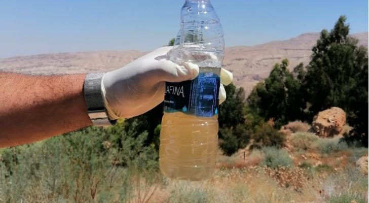 وزارة المياه تستهجن ما تداولته وسائل التواصل حول مياه وادي الكرك