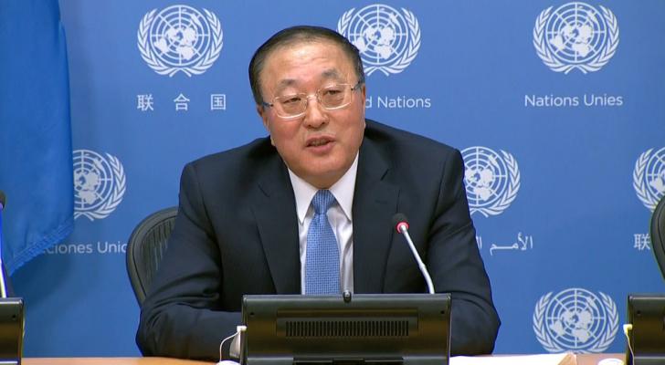 السفير الصيني لدى الأمم المتحدة تشانغ جون