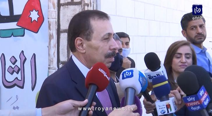 وزير التربية والتعليم تيسير النعيمي
