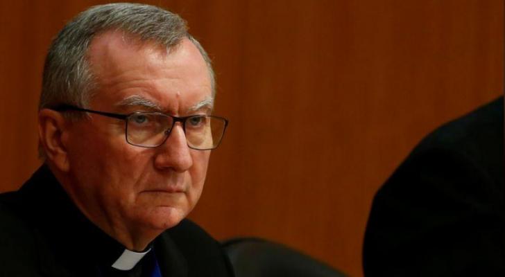 الكاردينال بيترو بارولين وزير خارجية الفاتيكان