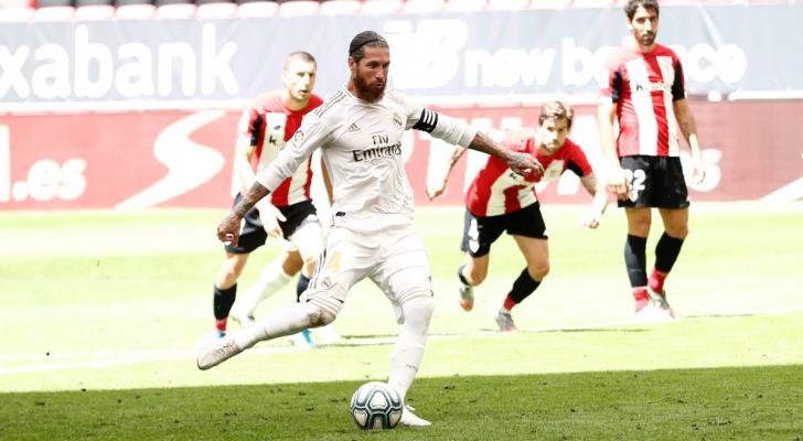 ريال مدريد يتفوق على بيلباو ويقترب من التتويج بالدوري الإسباني