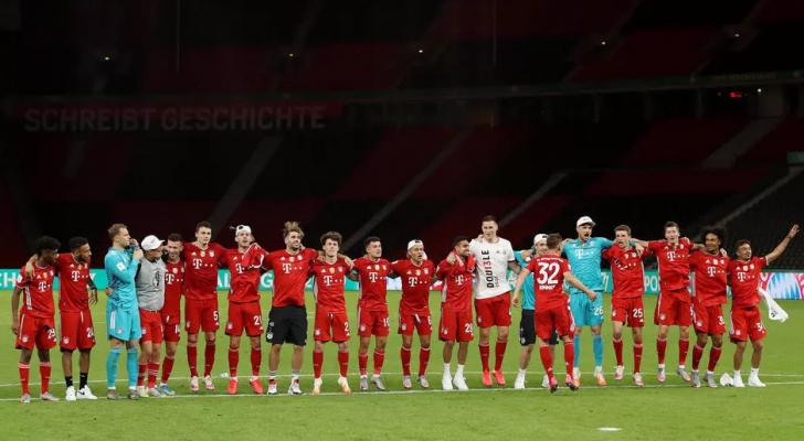 كأس ألمانيا: بايرن ميونيخ يحرز لقبه الـ20 ويحقق الثنائية