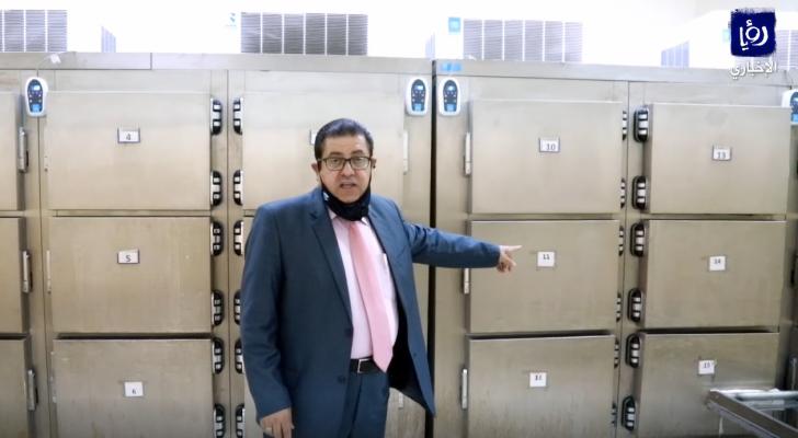 مدير مديرية الطب الشرعي الدكتور عدنان عباس