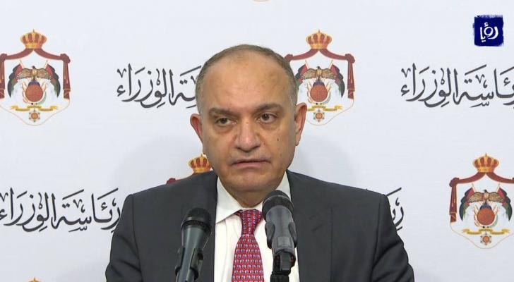 وزير الاعلام امجد العضايلة