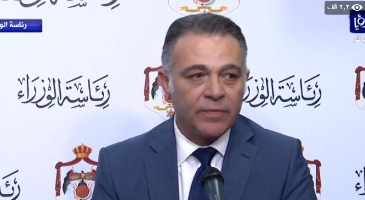 وزير التخطيط وسام الربضي