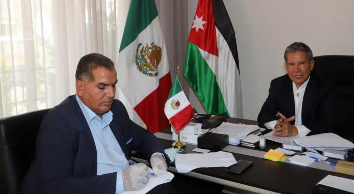 السفير المكسيكي في عمان روبرتو رودريغيز هرنانديز