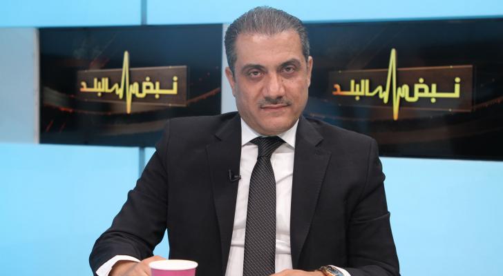 رئيس لجنة الشؤون الخارجية النيابية النائب رائد الخزاعلة