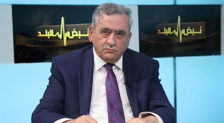 الناطق الاعلامي باسم لجنة الأوبئة الوطنية الدكتور نذير عبيدات