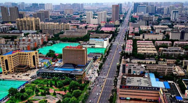 مدينة تانغشان في شمال الصين