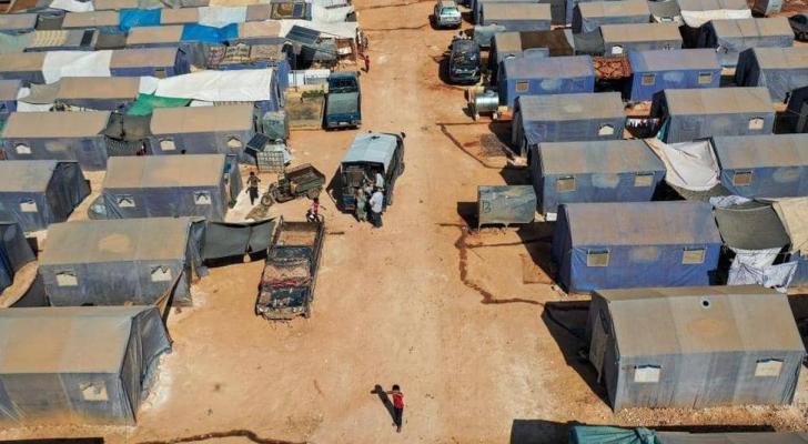 مخيمات النزوح السوري - ارشيفية