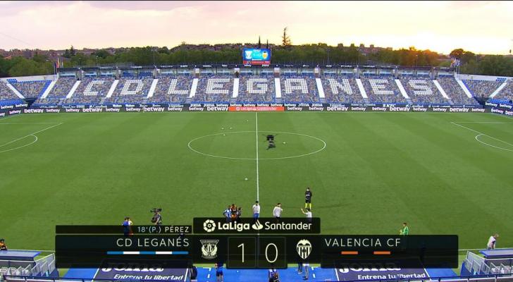 حافظ ليغانيس على أمله الضعيف بالبقاء في دوري الدرجة الأولى الإسباني