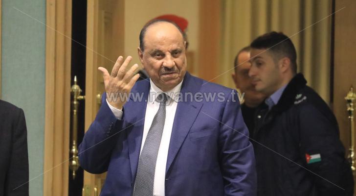 وزير الداخلية سلامة حماد