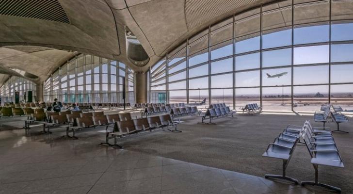 مطار الملكة علياء - ارشيفية
