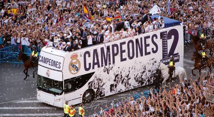 ريال مدريد يُناشد جماهيره بعدم الاحتفال في ساحة ثيبيليس بمدريد