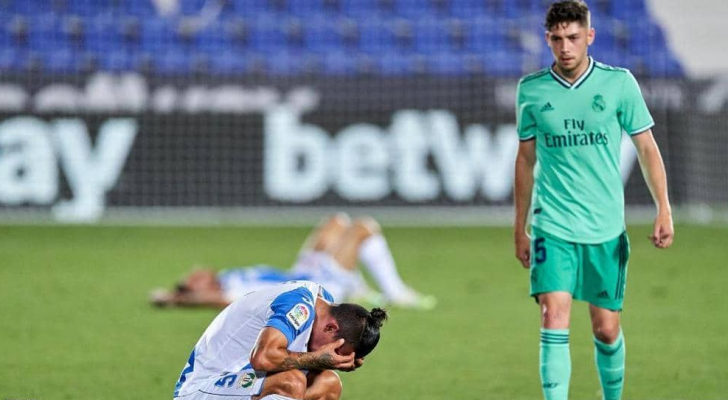 تعادل ريال مدريد 2-2 مع ليغانيس