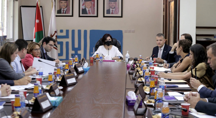 وزيرة السياحة تعرض لسفراء اوروبيين إجراءات تصنيف الأردن دولة خضراء